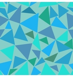 Triangle pastel seamless pattern vector