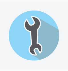 Wrench Color Icon vector image vector image