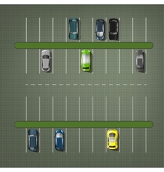 Parking Lots vector image