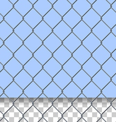 security fence pattern vector image vector image