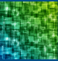 Abstract geometric squares lines background vector
