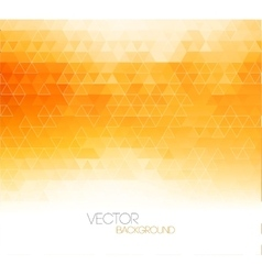 Abstract orange light template background vector