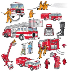 First Responders Art vector