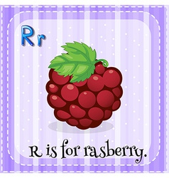 Letter R vector