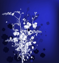 Stylized bouquet vector