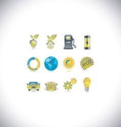 environment set vector image