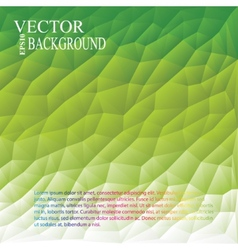Green White Light Polygonal Mosaic Background vector image vector image