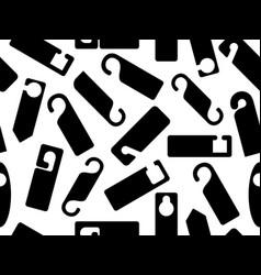 Door knob hangers seamless vector