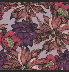 seamless pattern with complex detailed colors vector image vector image