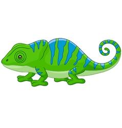 Cartoon cute Chameleon vector