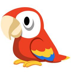 parrot design vector image
