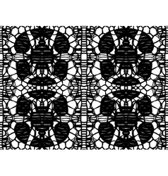 pattern lace vector image vector image