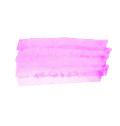 pink watercolor stain isolated on white background vector image