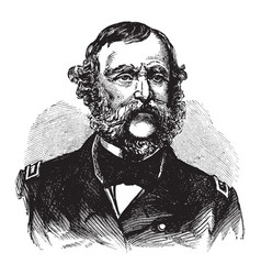 Samuel francis dupont vintage vector