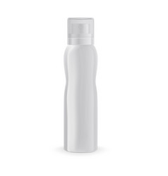 spray bottle mock deodorant with a bend vector image