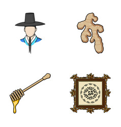 Travel art and other web icon in cartoon style vector
