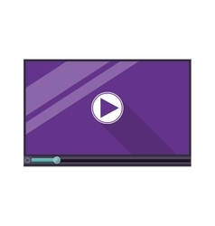 Video media player vector