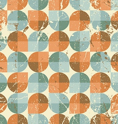 Old style seamless tiles mosaic abstract vector