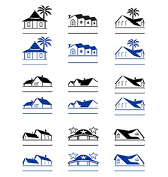house signs vector image vector image