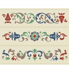 Russian ornament vector