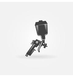 Spray gun icon vector image