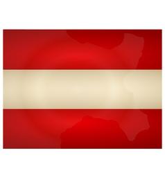 Vintage Austria Flag vector image