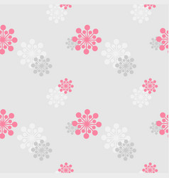 abstract grey-pink background vector image