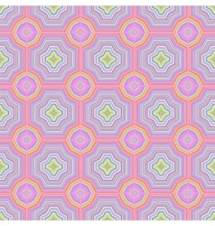 Colorful Ornamental Seamless Line Pattern vector