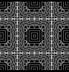 Geometric lines seamless pattern intricate vector