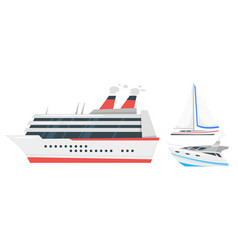 marine transport vector image