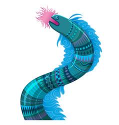 Sea fantastic animal vector