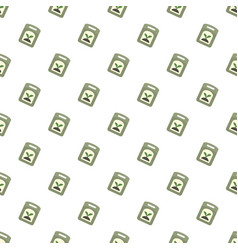 seed pack pattern seamless vector image