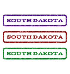 South dakota watermark stamp vector