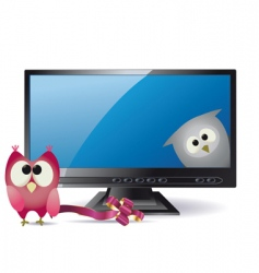 animation TV vector image