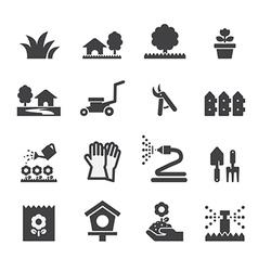 Lawn icon vector