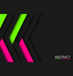modern dark abstract background with pink and vector image