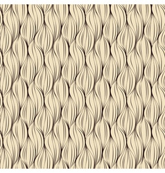 Seamless pattern made of brown lines vector image