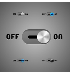 Switch Buttons vector