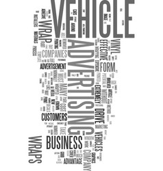 wrap it up and drive your business forward text vector image