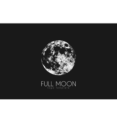 Moon logo design Creative moon logo Night logo vector image
