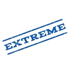 Extreme watermark stamp vector
