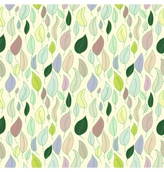 A seamless pattern with leafautumn leaf vector