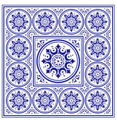 Carpet pattern vector