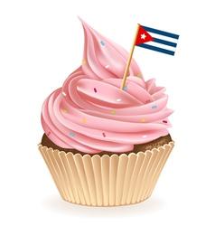 Cuban Cupcake vector