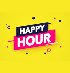 Dynamic happy hour label vector