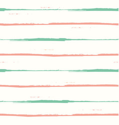 Hand drawn orange and teal watercolor horizontal vector