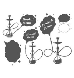 Hookah minimalistic vector