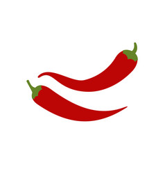 hot chilli pappers vector image