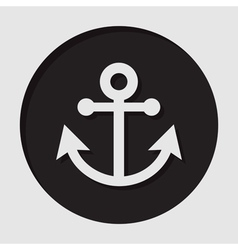 Information icon - anchor vector