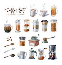 International day coffee with splash coffee vector